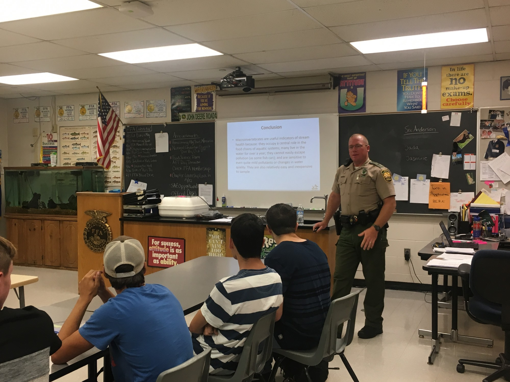 Wildlife and Fisheries Management with the Union County Game Warden